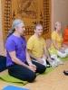 Ведущие преподаватели программы Андрей Лобанов ( ЙОГА ЛАМ, Россия) и Кешава Шутц (Yoga Vidya, Германия)